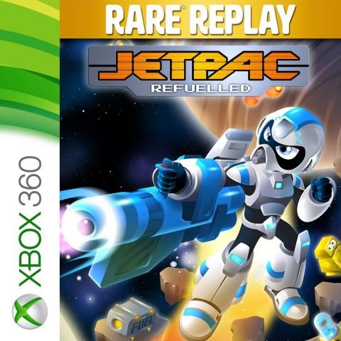 Jetpac Refuelled Art