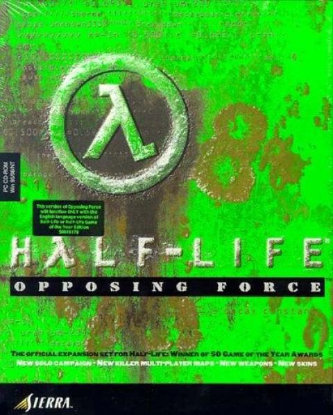 Half-Life: Opposing Force Art