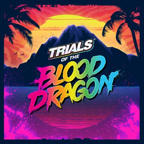 Trials of the Blood Dragon Art