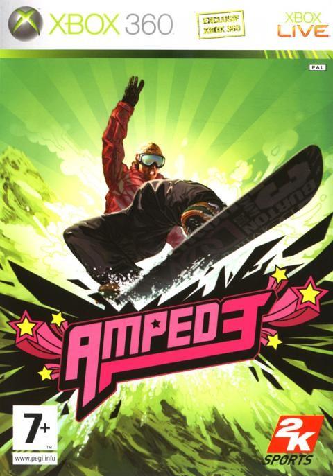 Amped 3 Art