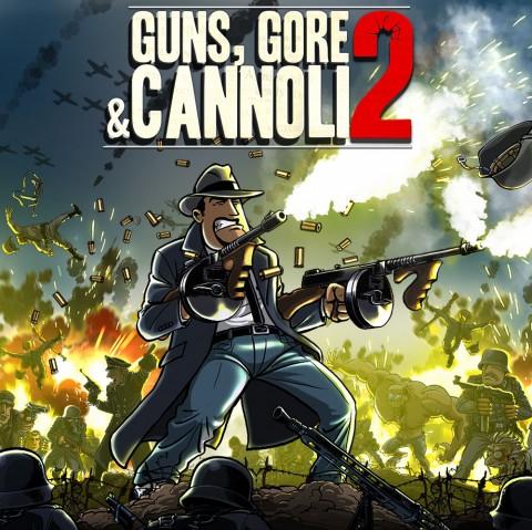 Guns, Gore and Cannoli 2 Art