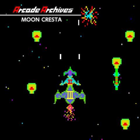Arcade Archives MOON CRESTA Art