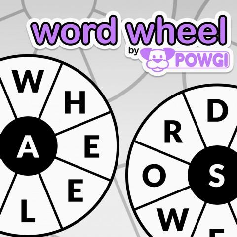 Word Wheel by POWGI Art
