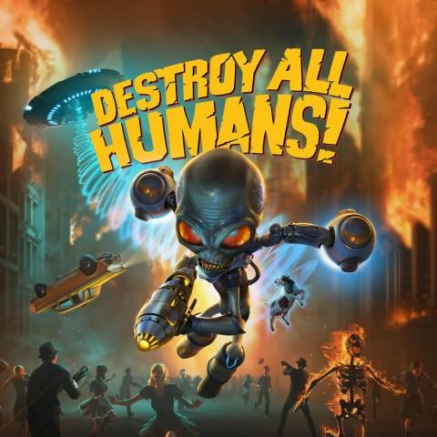 Destroy all Humans! (2020) Art