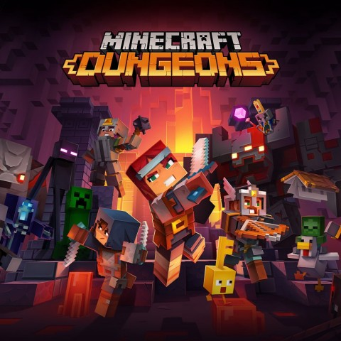 Minecraft Dungeons Art