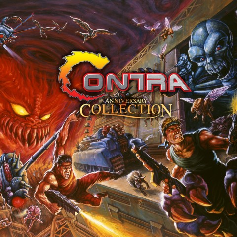 Contra Anniversary Collection Art