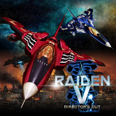 Raiden V: Director's Cut Art