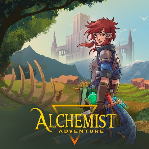 Alchemist Adventure Art