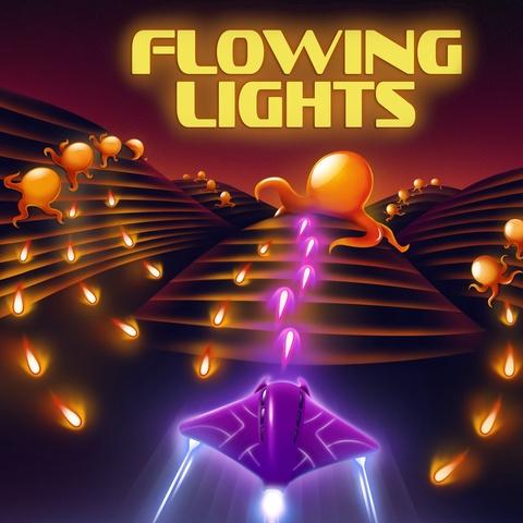 Flowing Lights Art
