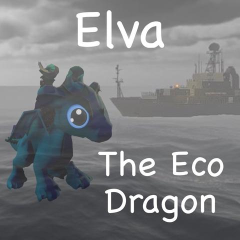 Elva the Eco Dragon Art