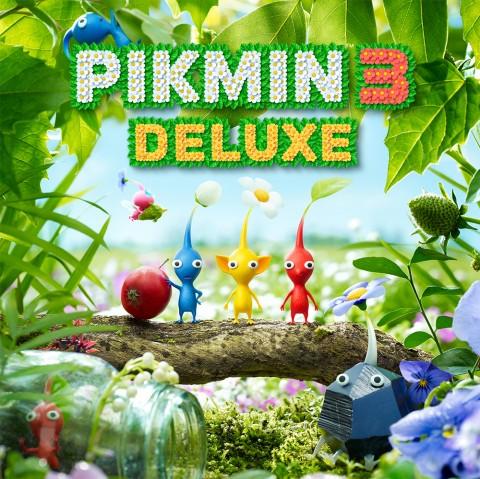 Pikmin 3 Deluxe Art