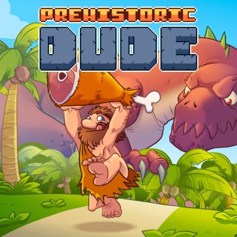 Prehistoric Dude Art