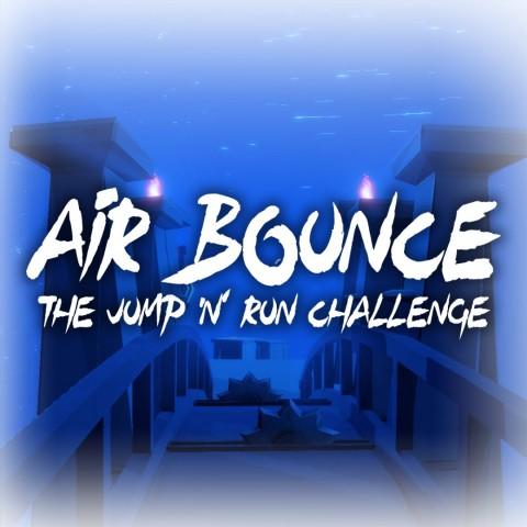 Air Bounce - The Jump 'n' Run Challenge Art