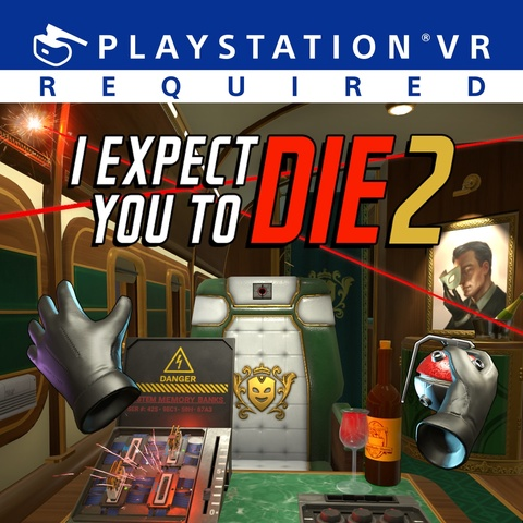 I Expect You To Die 2 Art