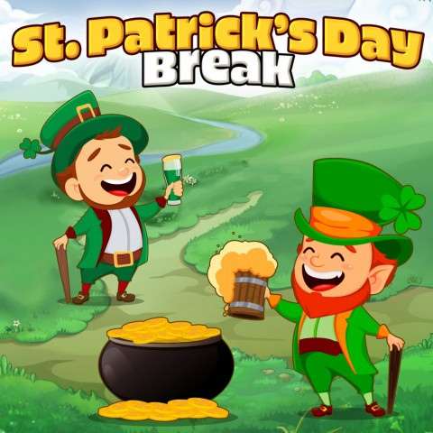 Saint Patricks Day Break Art