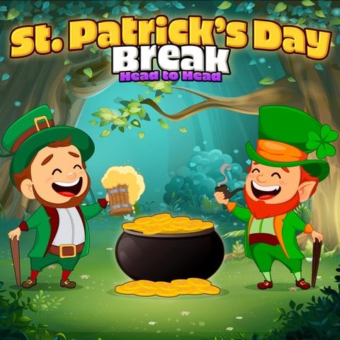 Saint Patricks Day Break Head to Head Art