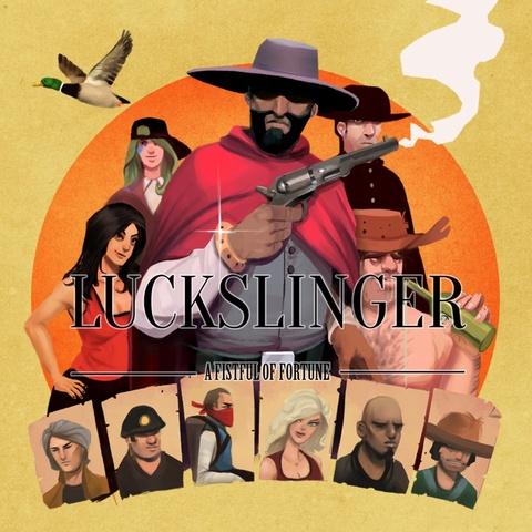 Luckslinger Art