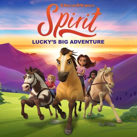 DreamWorks Spirit Lucky's Big Adventure Art