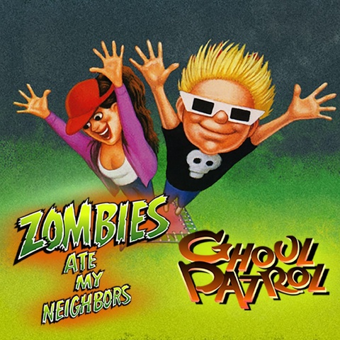 Zombies Ate My Neighbors and Ghoul Patrol Art