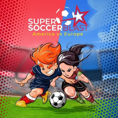 Super Soccer Blast: America vs Europe Art