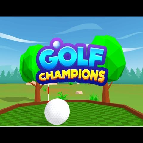 Golf Champions Art