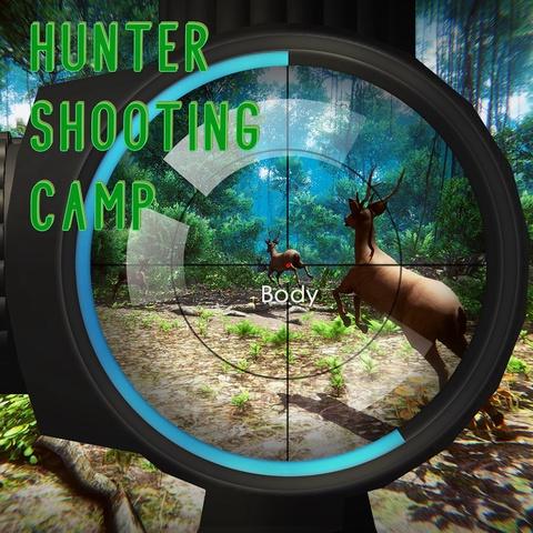 Hunter Shooting Camp Art