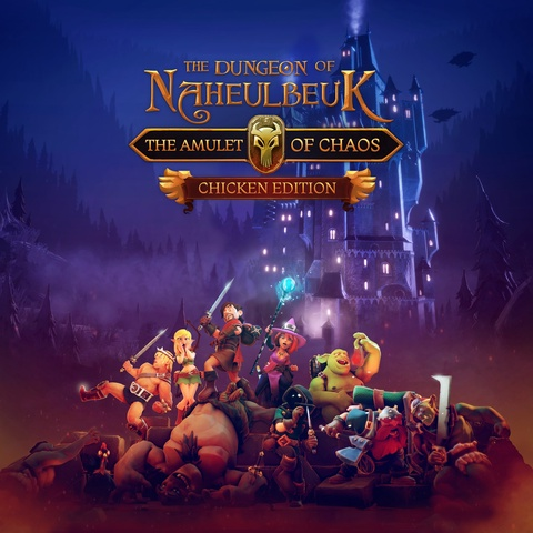 The Dungeon Of Naheulbeuk: The Amulet Of Chaos - Chicken Edition Art