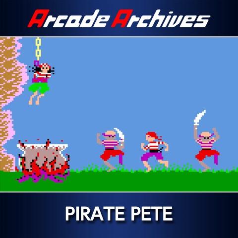 Arcade Archives PIRATE PETE Art