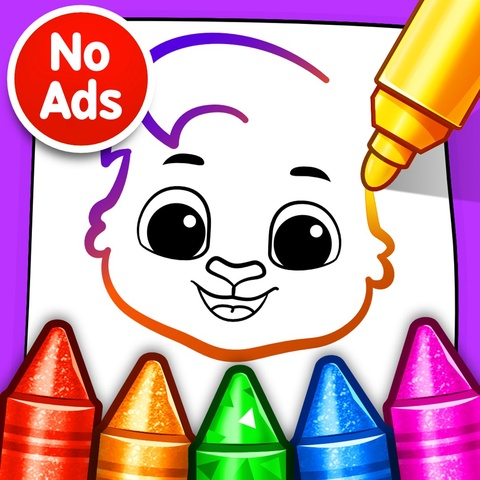 Drawing Games: Draw & Color For Kids Art