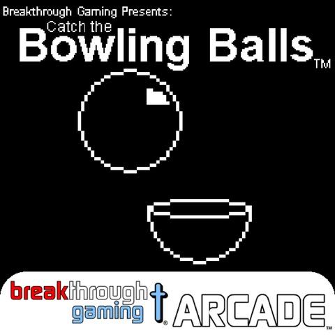 Catch the Bowling Balls - Breakthrough Gaming Arcade Art