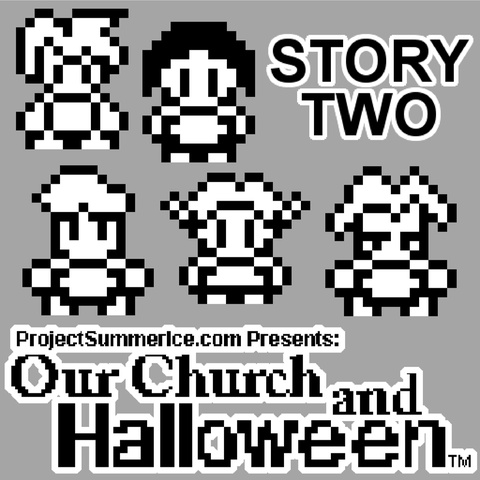 Our Church and Halloween RPG - Story Two Art