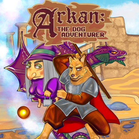 Arkan: The dog adventurer Art