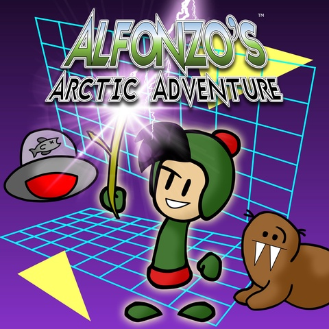 Alfonzo's Arctic Adventure Art