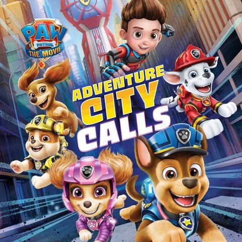 PAW Patrol The Movie: Adventure City Calls Art