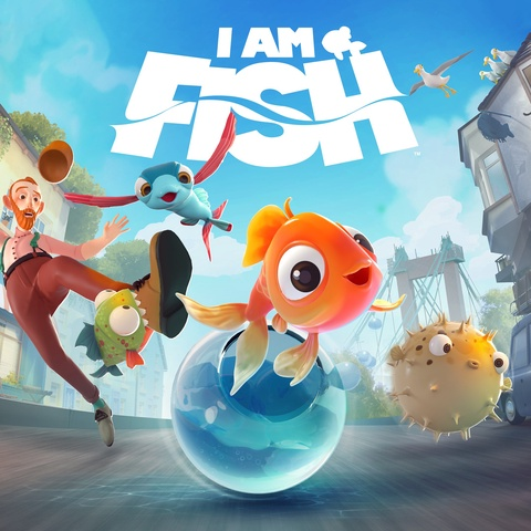 I Am Fish Art