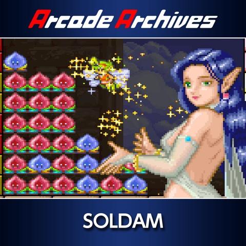 Arcade Archives SOLDAM Art