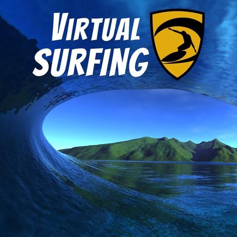 Virtual Surfing Art