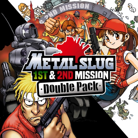 """""""METAL SLUG 1st & 2nd MISSION"""" Double Pack Art"""
