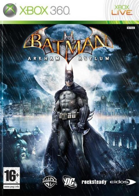 Batman: Arkham Asylum Art
