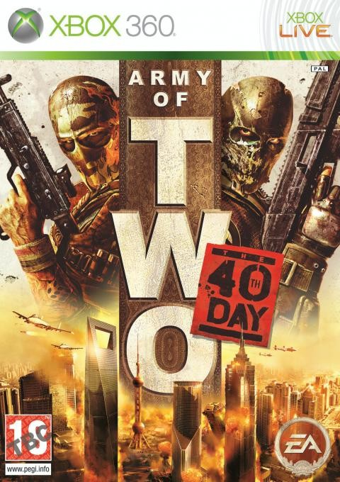 Army of Two: The 40th Day Art