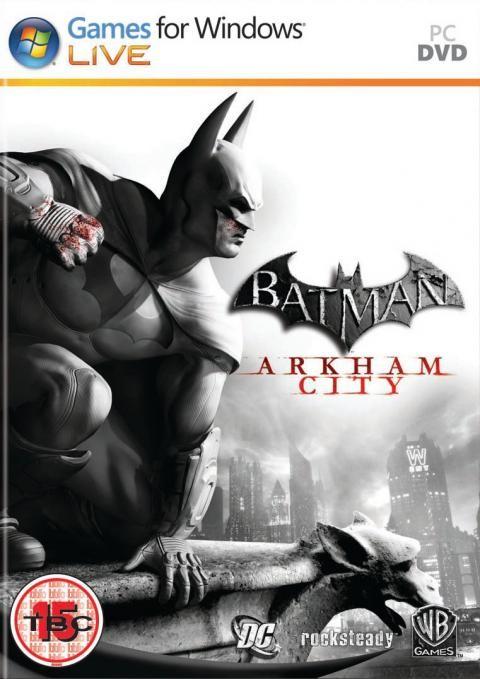 Batman: Arkham City Art