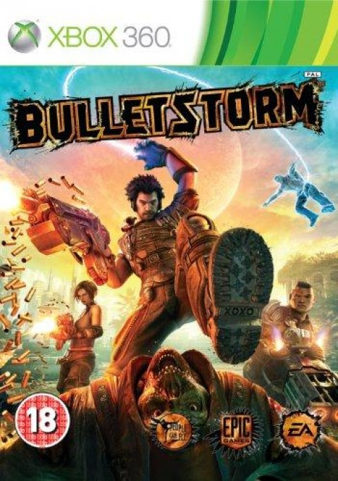 Bulletstorm Art