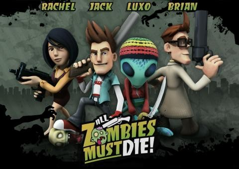 All Zombies Must Die Art